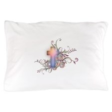 Colorful Cross Pillow Case