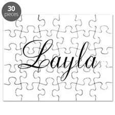 Layla Personalized Puzzle