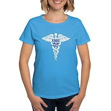 nurse 2012 white and navy T-Shirt