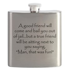 A Good Friend Flask