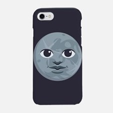Moon Emoji iPhone 7 Tough Case