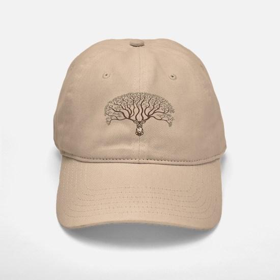 deer-tree-T.png Baseball Baseball Cap