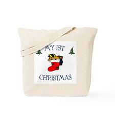 My first Christmas Boy Tote Bag