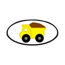 Yellow Dump Truck Patches