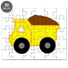 Yellow Dump Truck Puzzle