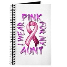 I Wear Pink for my Aunt Journal