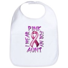 I Wear Pink for my Aunt Bib
