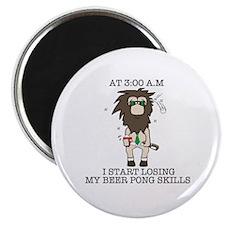 Beer pong skill Magnet