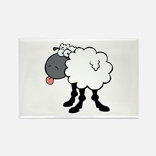 Sheep Rectangle Magnet (10 pack)