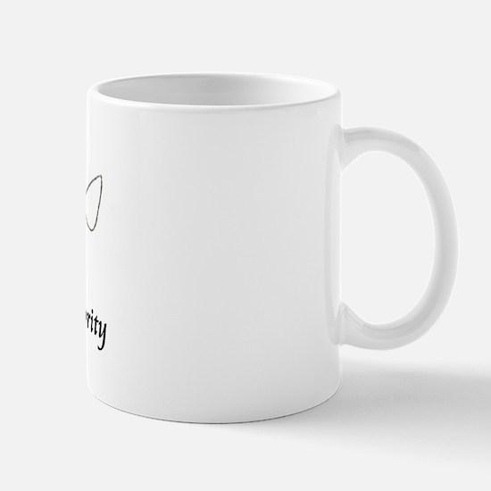The evolution of authority Mug