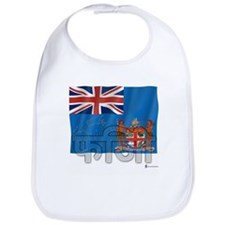 Silky Flag of Fiji (Hindi) Bib