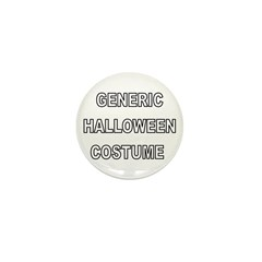 The Generic Halloween Costume Mini Button (10 pack