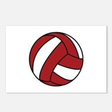 Volleyball Postcards (Package of 8)