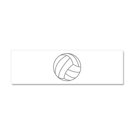 Volleyball Car Magnet 10 x 3