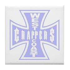 West Coast CRAPPERS Tile Coaster