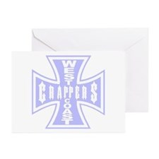 West Coast CRAPPERS Greeting Cards (Pk of 10)