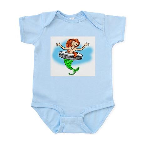 Mermaid Infant Creeper