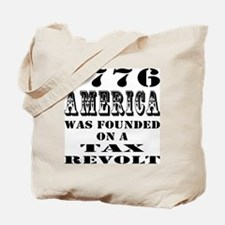 America Was Founded Tote Bag