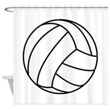 Volleyball Shower Curtain