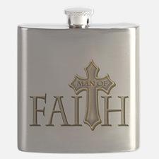 Man of Faith Flask