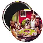 """POKER DOGS 2.25"""" Magnet (100 pack)"""