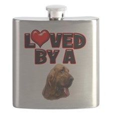 Loved by a Bloodhound.png Flask