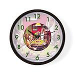 POKER DOGS Wall Clock