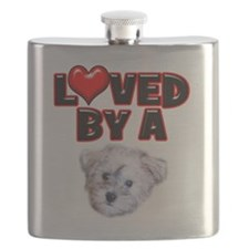 Loved by a Schnoodle.png Flask
