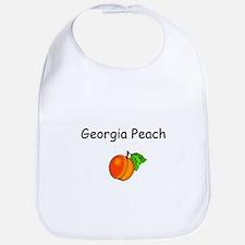 Georgia Peach Souvenir Bib