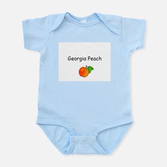 Georgia Peach Souvenir Infant Creeper