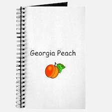 Georgia Peach Souvenir Journal