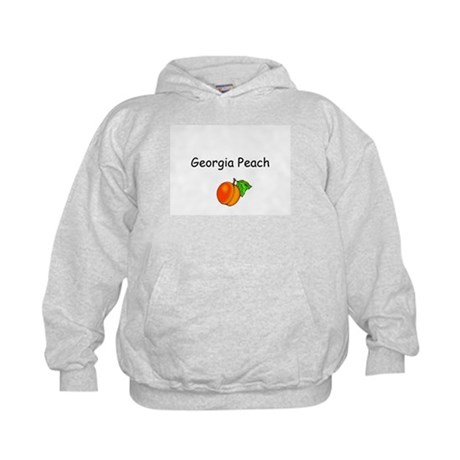 Georgia Peach Souvenir Kids Hoodie