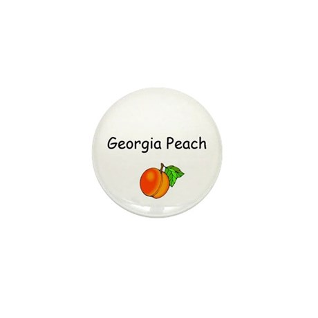 Georgia Peach Souvenir Mini Button (10 pack)