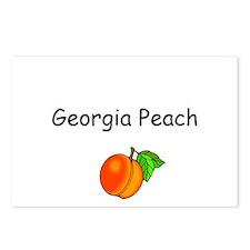 Georgia Peach Souvenir Postcards (Package of 8)