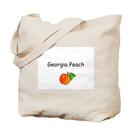 Georgia Peach Souvenir Tote Bag