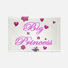 Cute Big sister princess Rectangle Magnet