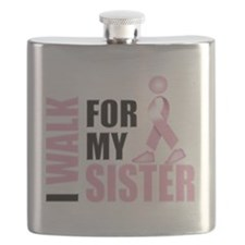 I Walk for my Sister pink.png Flask