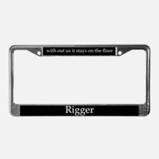 License Plate Frame rigger