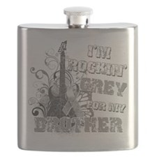 Im Rockin Grey for my Brother.png Flask