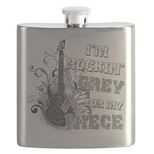 Im Rockin Grey for my Niece.png Flask