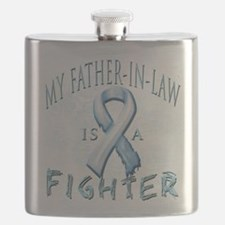 My Father-In-Law is a Fighter Light Blue.png Flask