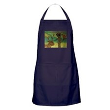 Friendly Alien Apron (dark)