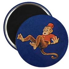 Falling Monkey Magnet