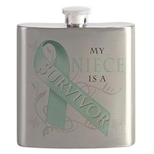 My Niece is a Survivor.png Flask
