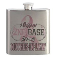 I Support 2nd Base for my Mother In Law.png Flask