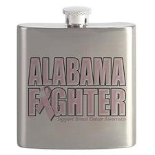 Alabama Breast Cancer Fighter.png Flask