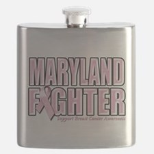 Maryland Breast Cancer Fighter.png Flask
