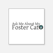Foster Bumper Sticker (Cat) Sticker