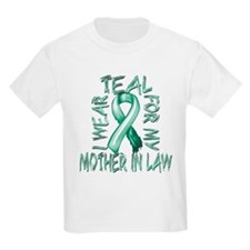 I Wear Teal for my Mother in Law T-Shirt