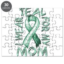 I Wear Teal for my Mom Puzzle